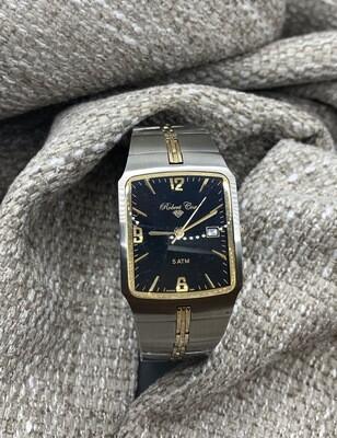 Two Tone Brushed Robert Cox Men's Watch