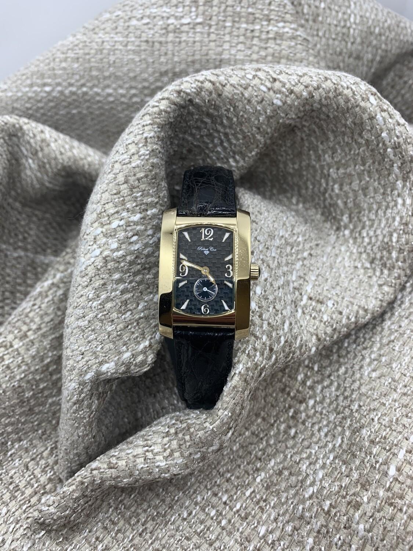 Ladies Robert Cox Wrist Watch With Crocodile Band