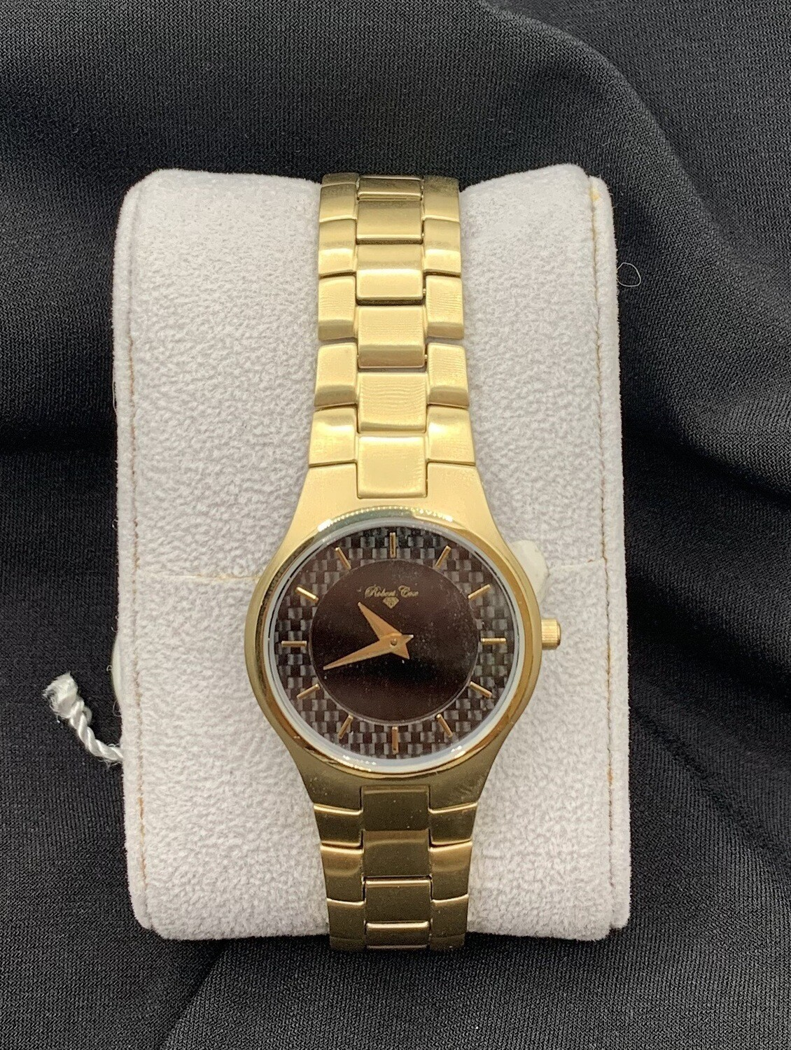 Ladies Brushed Goldtone Robert Cox Watch
