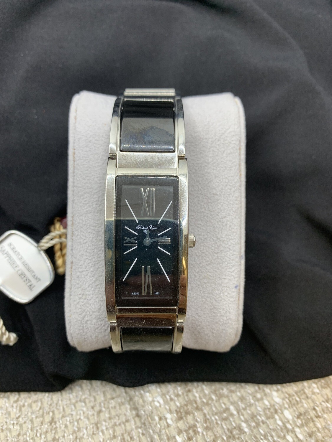 Robert Cox Ladies Black Stainless Watch