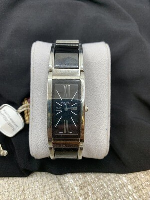 Robert Cox Ladies Black Stainless Watch