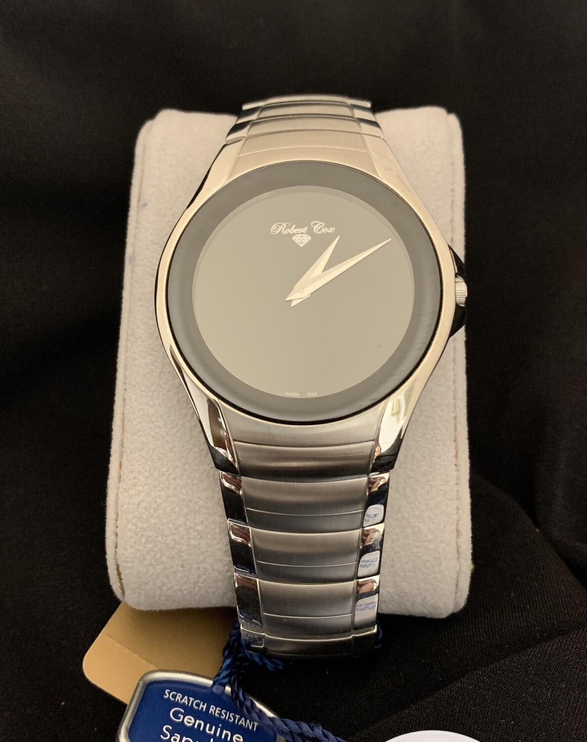 Elegant Robert Cox Brushed Stainless Men's Watch