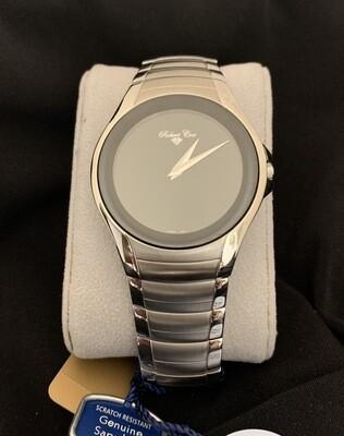 Elegant Robert Cox Brushed Stainless Men's Watch