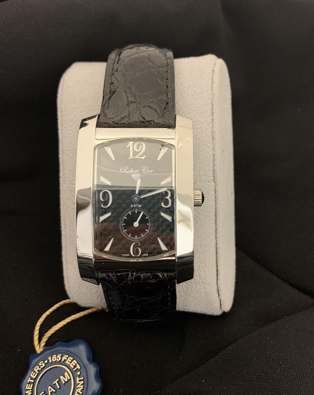 Men's Robert Cox Signature Watch With Crocodile Band