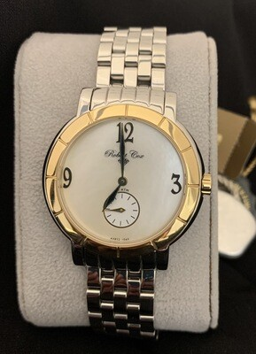 Men's Two Tone Mother Of Pearl Face Robert Cox Watch