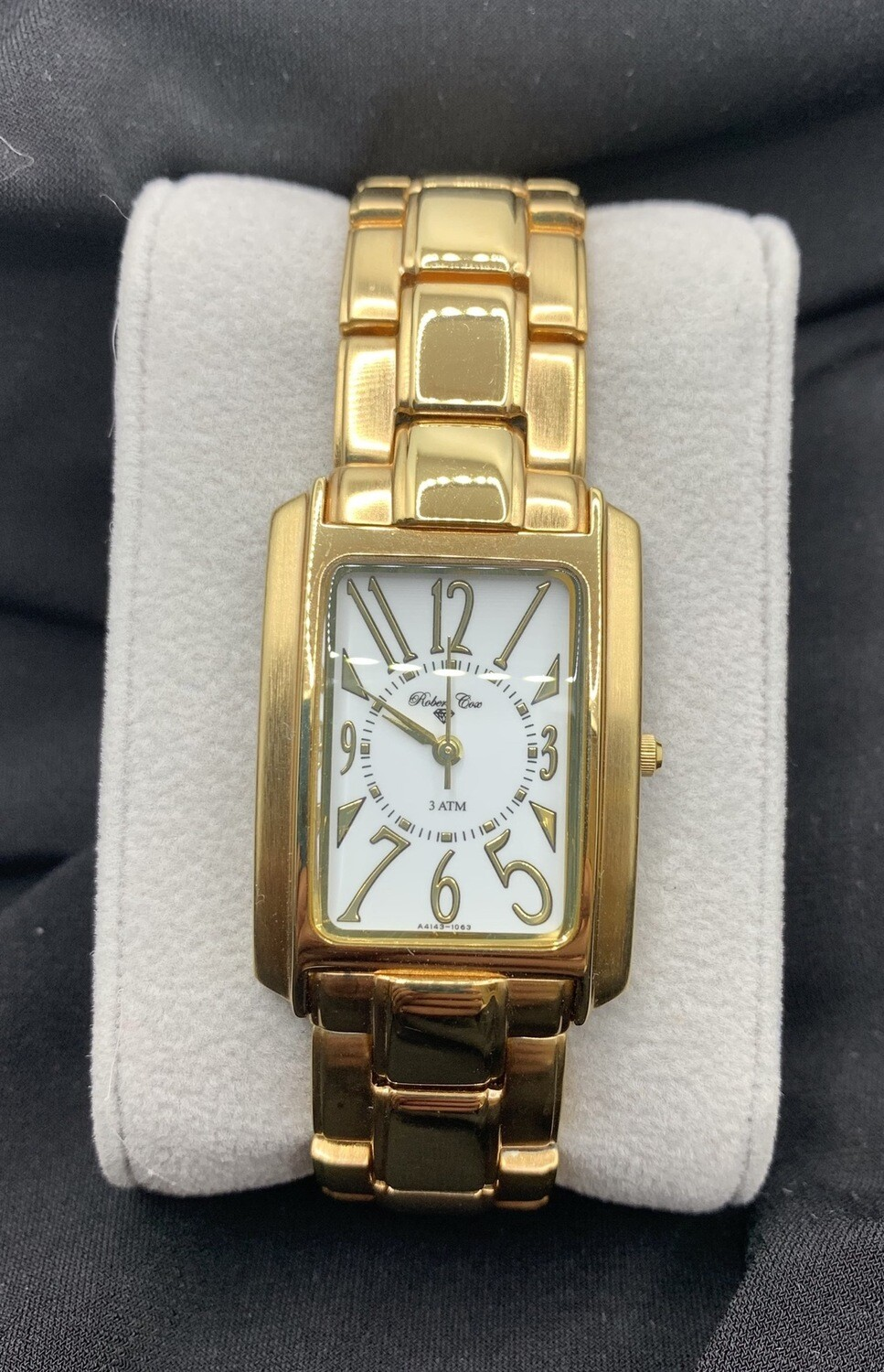 Robert Cox Goldtone Stainless Watch