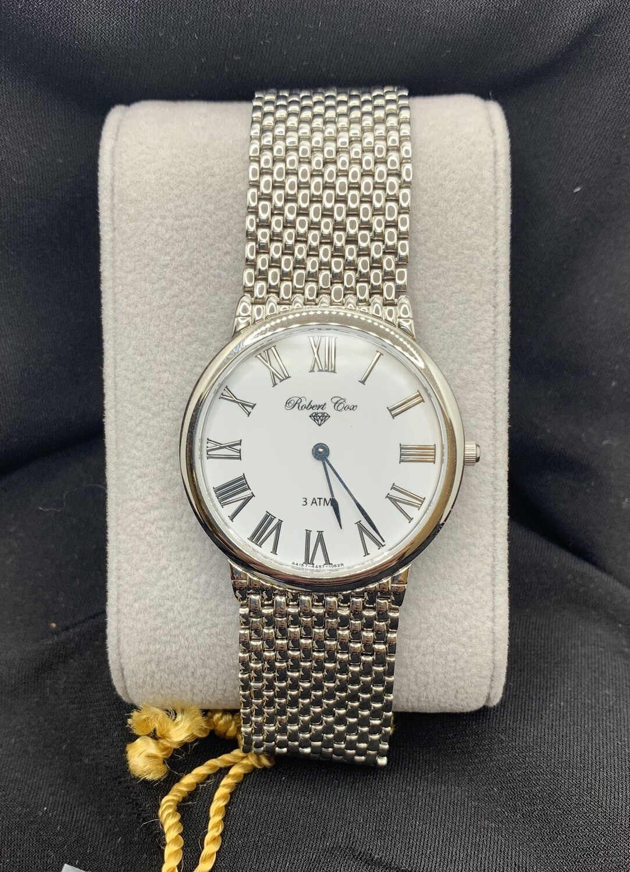 Ultra thin Stainless Mesh Robert Cox Watch
