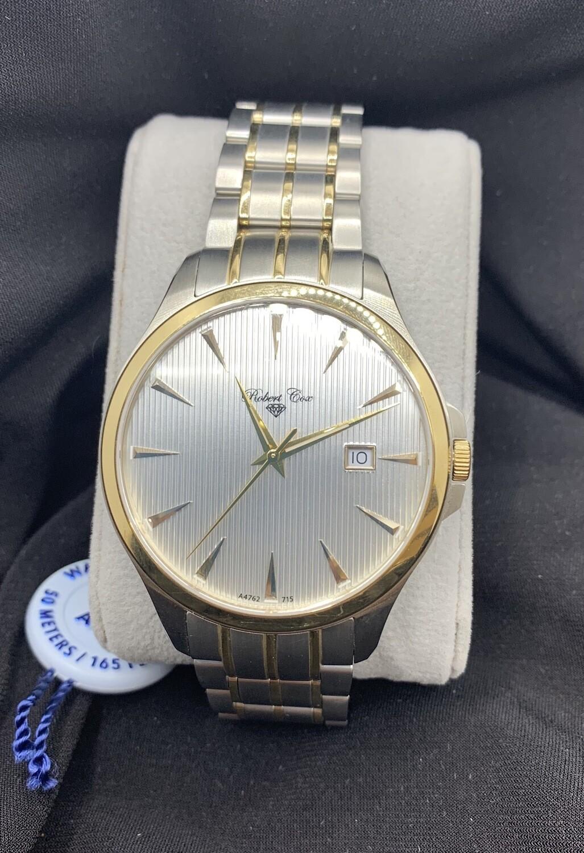 Two Tone Brushed Luminous Robert Cox Men's Watch