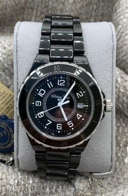 Men's Robert Cox Black Ceramic Watch