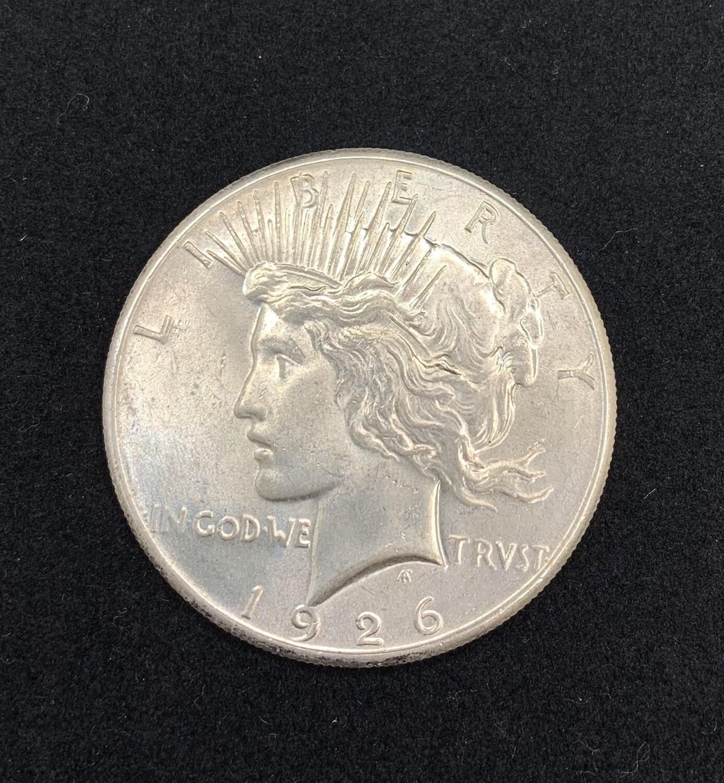 1926 Silver Peace Dollar - Philadelphia Mint