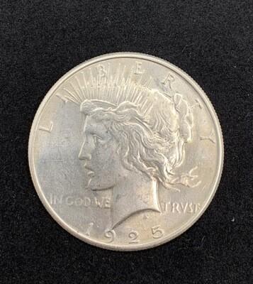 1925 Silver Peace Dollar - Philadelphia Mint