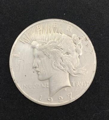 1927 Silver Peace Dollar - Philadelphia Mint