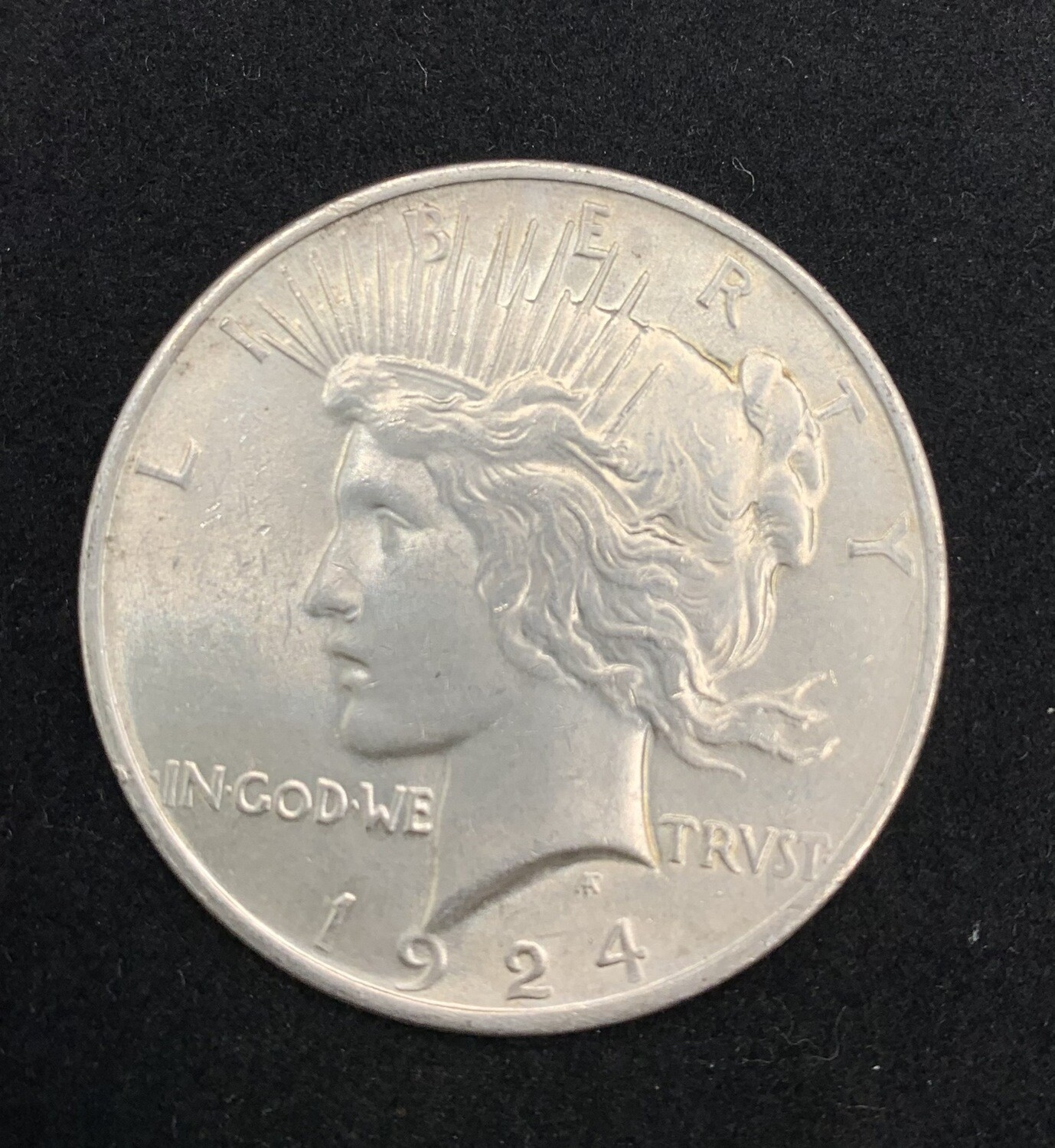 1924 Silver Peace Dollar - Philadelphia Mint