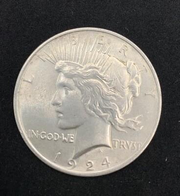 1924 Silver Peace Dollar - Philadelphia Mint