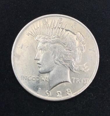 1923 Silver Peace Dollar - Philadelphia Mint