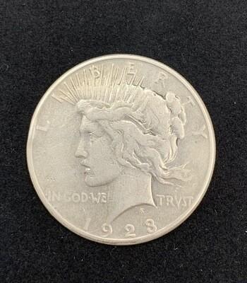 1923 Silver Peace Dollar Denver Mint