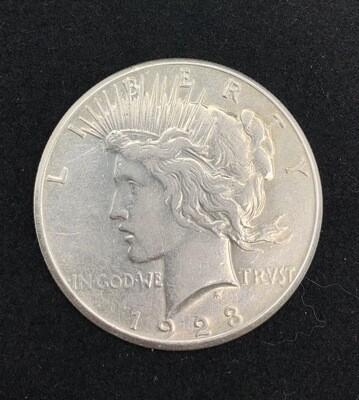 1923 Silver Peace Dollar San Francisco Mint