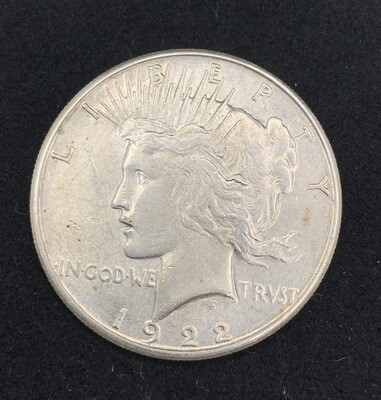 1923 Silver Peace Dollar San Francisco Mint