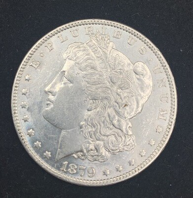 1879 Morgan Silver Dollar - Philadelphia Mint
