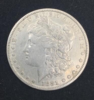 1881 Morgan Silver Dollar - Philadelphia Mint