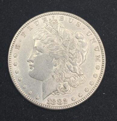 1882 Morgan Silver Dollar - Philadelphia Mint