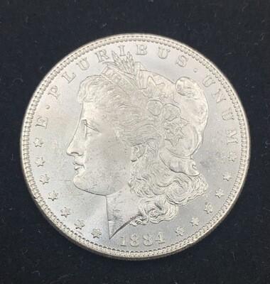 1884 Morgan Silver Dollar - Philadelphia Mint