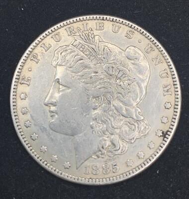 1885 Morgan Silver Dollar - Philadelphia Mint