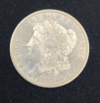 1880 S Morgan Silver Dollar - San Francisco Mint