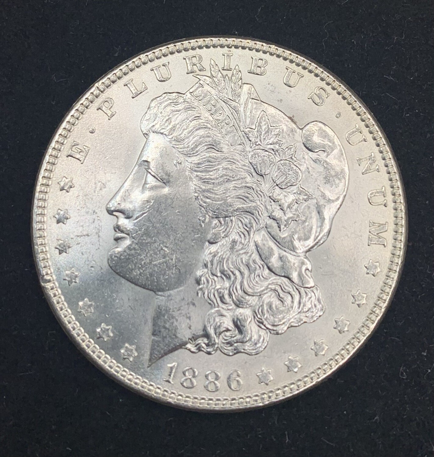 1886 Morgan Silver Dollar - Philadelphia Mint