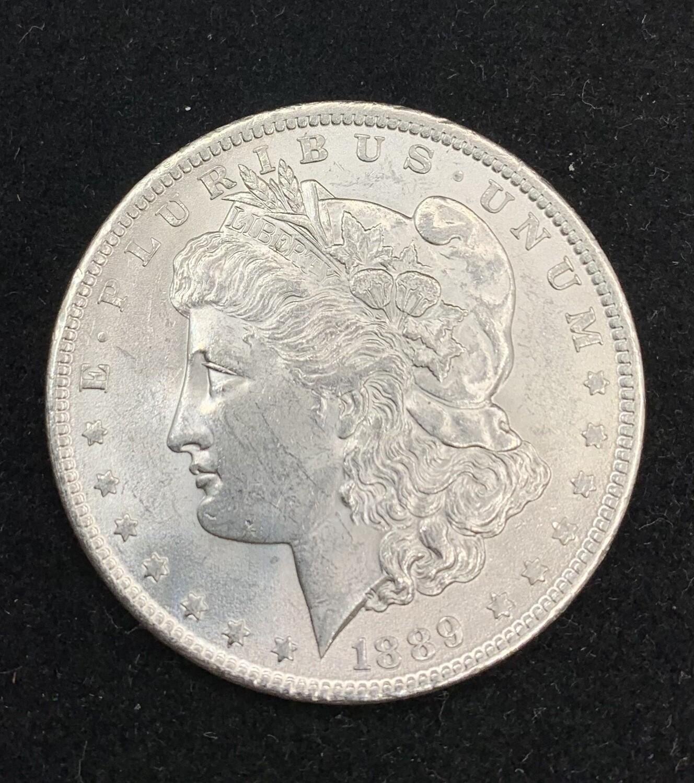 1889 Morgan Silver Dollar - Philadelphia Mint