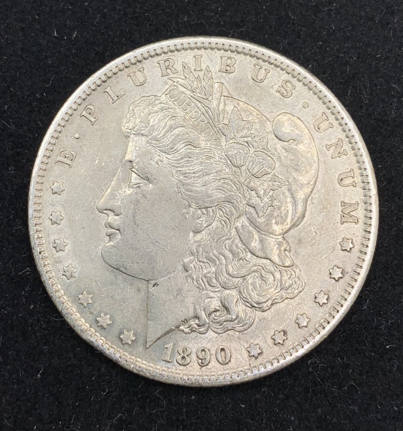 1890 Morgan Silver Dollar - San Francisco Mint