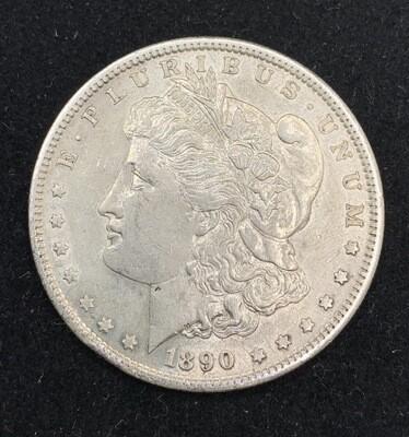 1890 Morgan Silver Dollar - San Francisco Mint