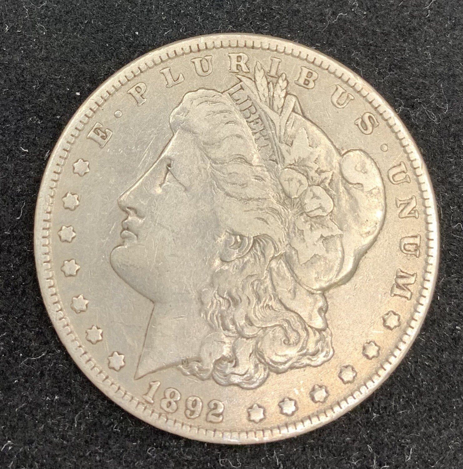 1892 Morgan Silver Dollar - Philadelphia Mint