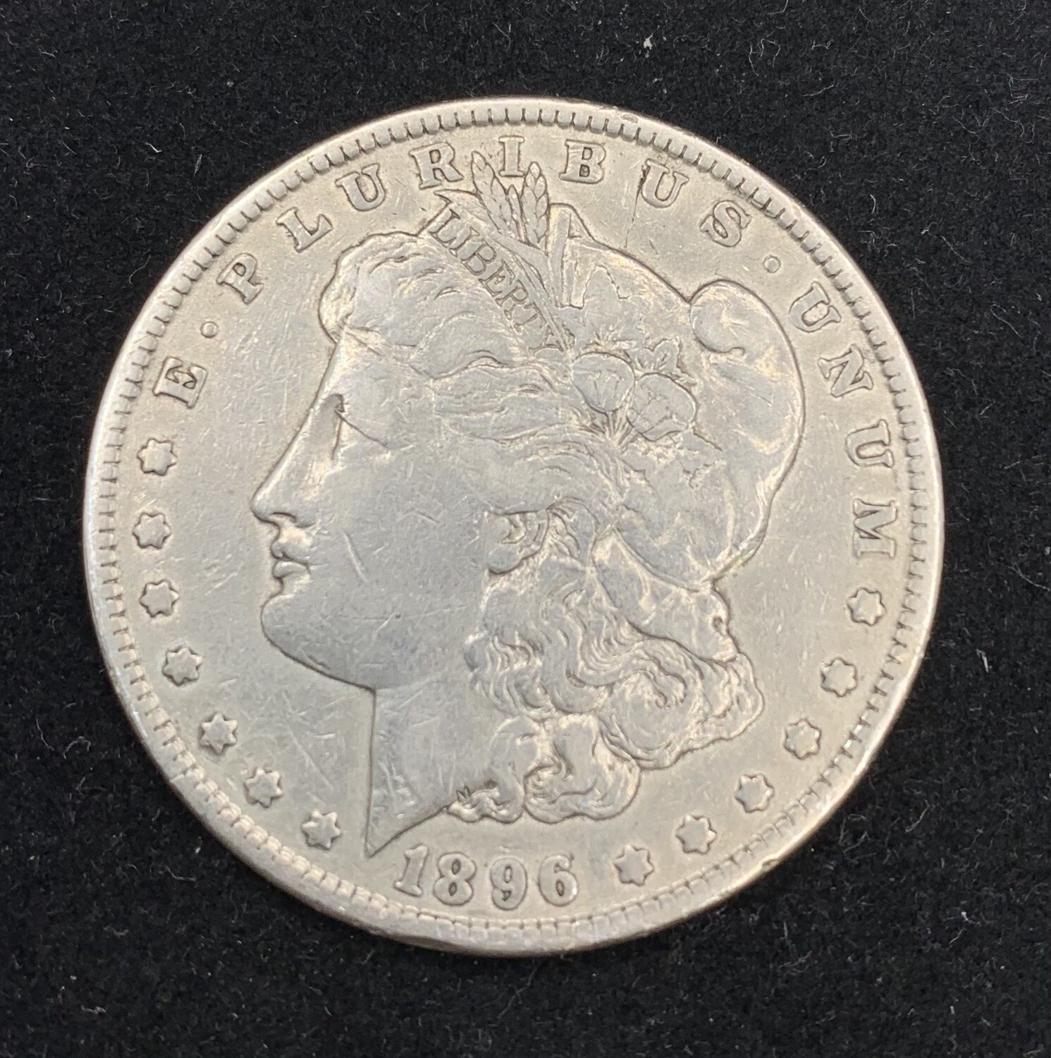 1896 Morgan Silver Dollar - Philadelphia Mint