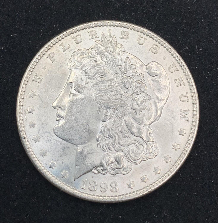 1898 Morgan Silver Dollar - Philadelphia Mint