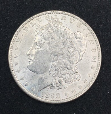 1898 Morgan Silver Dollar - Philadelphia Mint