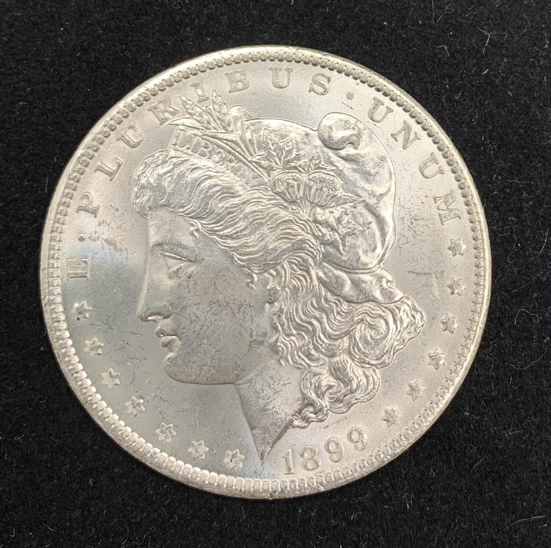1889 Morgan Silver Dollar - New Orleans Mint