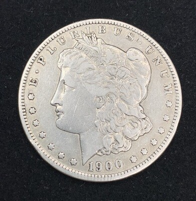 1900 Morgan Silver Dollar - New Orleans Mint