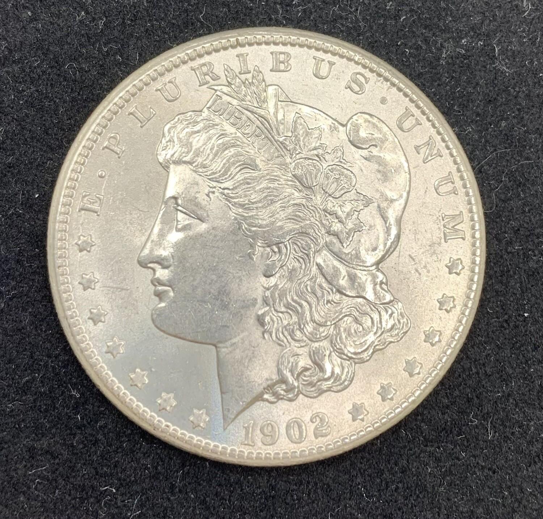 1902 Morgan Silver Dollar - New Orleans Mint