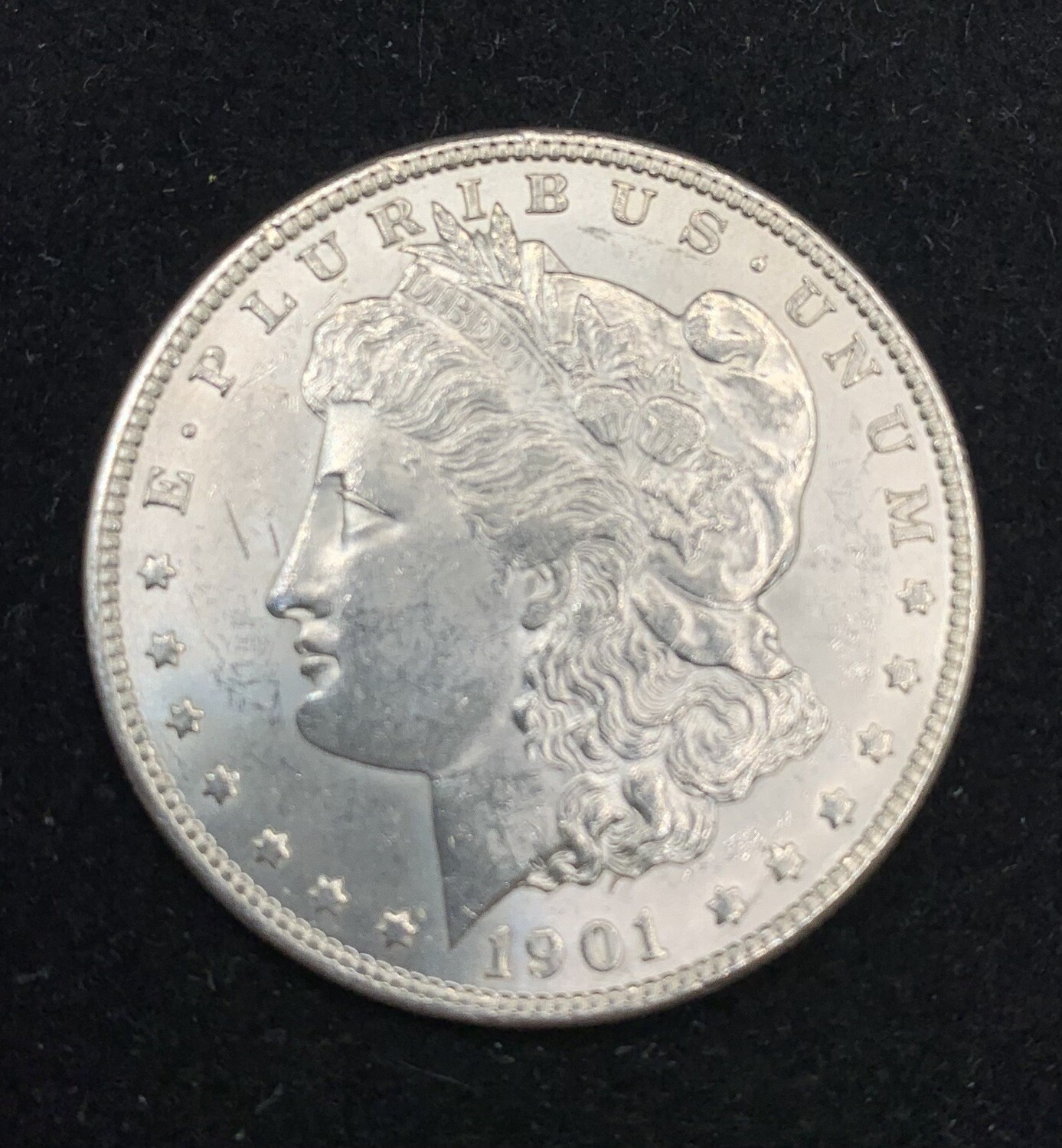 1901 Morgan Silver Dollar - New Orleans Mint