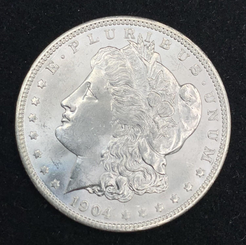 1904 Morgan Silver Dollar - New Orleans Mint