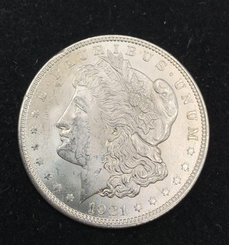 1921 Morgan Silver Dollar - Philadelphia Mint