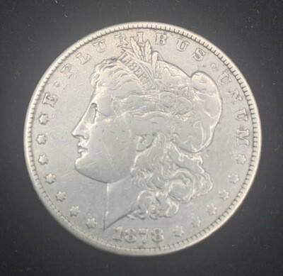 1878 Morgan Silver Dollar - Philadelphia Mint