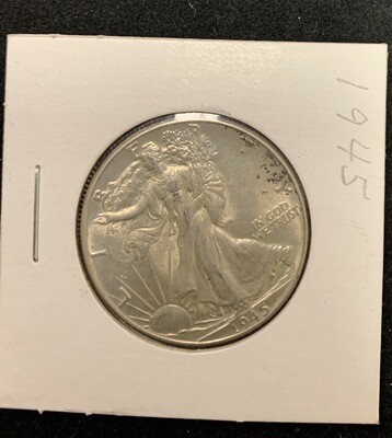 1945 P Walking Liberty Half Dollar Great Details
