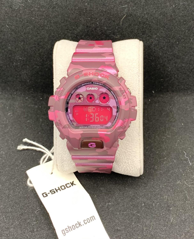 Pink Camo Casio G-Shock Women's Watch GMDS6900CF-4