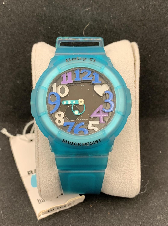 Casio Translucent Teal Baby-G BGA131-3B Watch