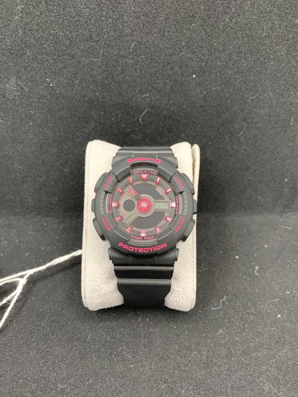 Casio Black & Pink Baby-G BA111-1A Watch
