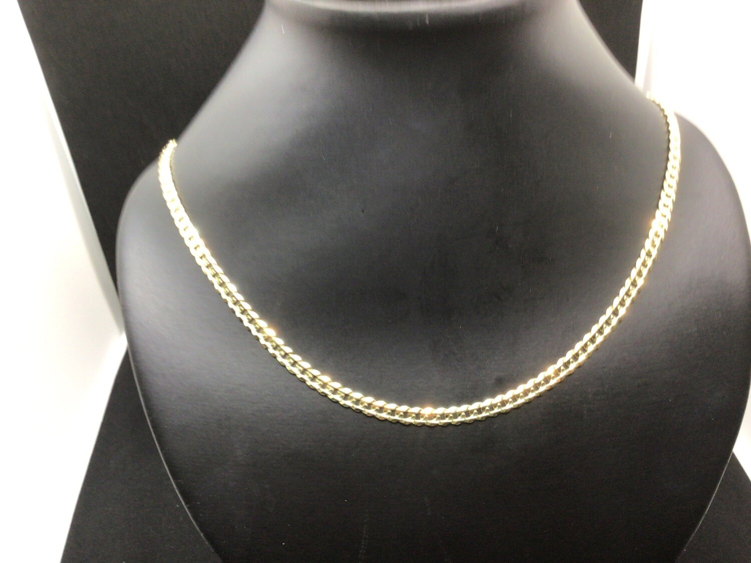 "10KT. GOLD 20 "" ITALIAN CURB LINK CHAIN"