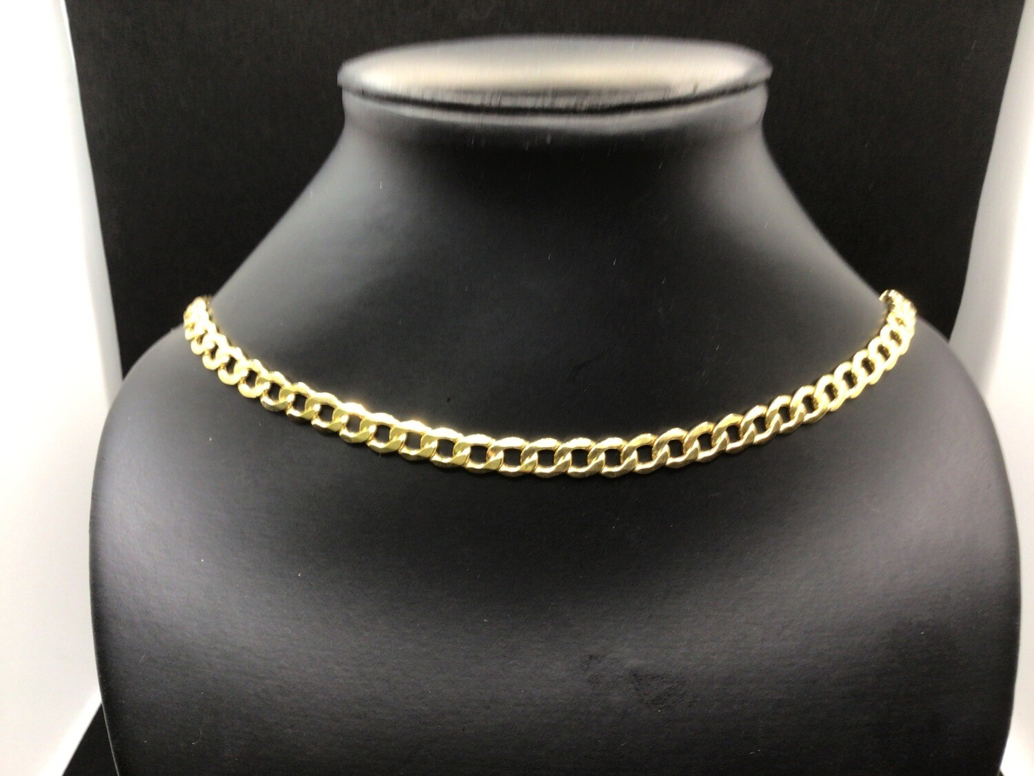 """14 KT. GOLD 20 """" SEMI SOLID CURB. A GREAT LOOK FOR A GREAT PRICE❗️7 MM. WIDE SO IT SHOWS UP NICE. A LOBSTER CLAW FOR SAFETY. ONE OF OUR BEST CHAINS"""