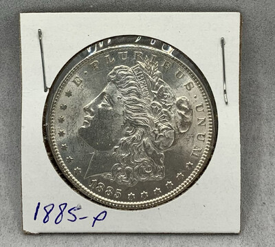 1885 Morgan Silver Dollar Mint Luster - Philadelphia Mint